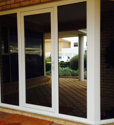 smart glaze can install a modern hinged double glazed door